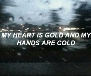 quotes, halsey, and cold image