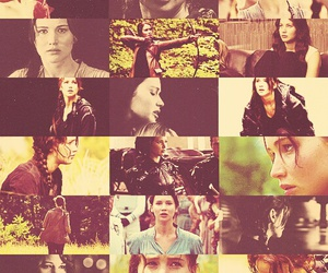 the hunger games, girl, and katniss everdeen image