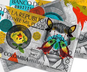 art, $$, and colombia image