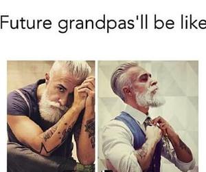 future, grandpa, and funny image