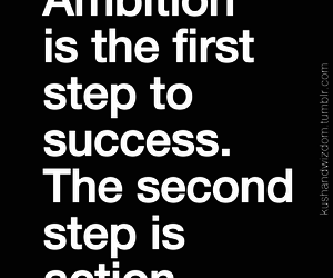 quote, ambition, and life image