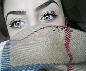 eyes and eyebrows image