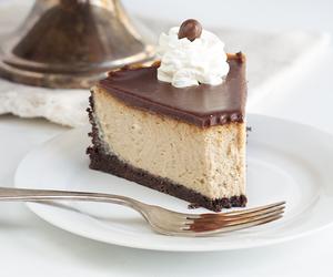 cake, mocha, and cheesecake image