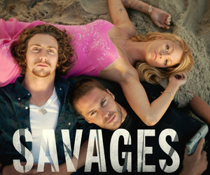 movie, savages, and love image