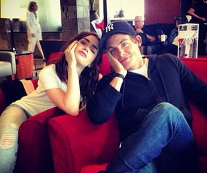 lily collins, Kevin Zegers, and city of bones image