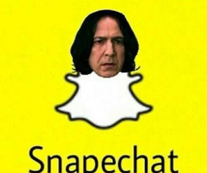 snapchat, harry potter, and snape image