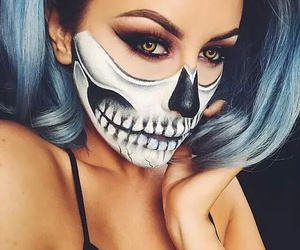 helloween and make up image