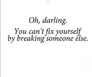 quotes, darling, and fix image
