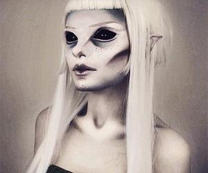 alien and make-up image
