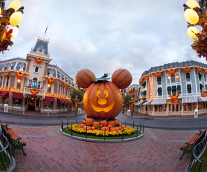 Halloween, disney, and autumn image