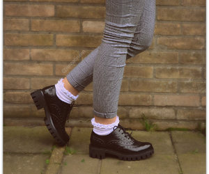outfit, shoes, and socks image