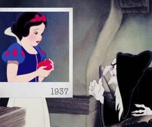 disney, polaroid, and snow white image