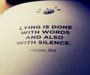 quotes, lying, and words image