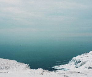 ocean, ice, and nature image