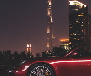 car, Dubai, and city image