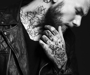 tattoo, boy, and guy image
