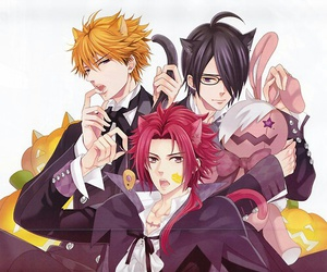 anime, brothers conflict, and Halloween image