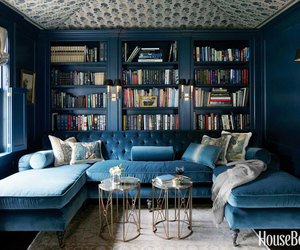 books, decor, and library image