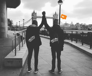 friend, frienship, and london image