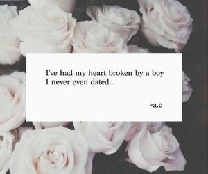 love, boy, and broken image