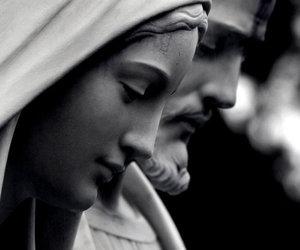 beautiful, black & white, and dark image