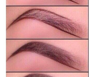 eyebrows, looking good, and know image