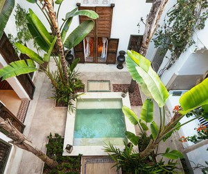 architecture, marrakech, and indoor image