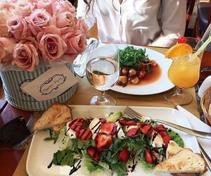 flowers, food, and drink image