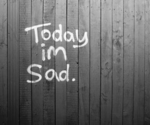 sad, quotes, and today image
