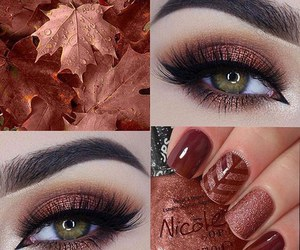 beauty, colourful, and fall image