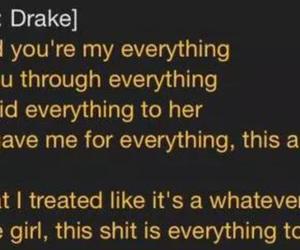 Drake, jungle, and Lyrics image