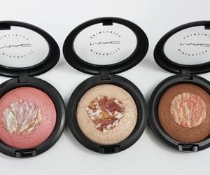 blush, girl, and makeup image