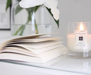 book, candle, and tumblr image