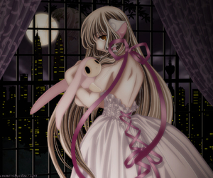 anime, chobits, and chii image
