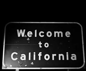 california and text image