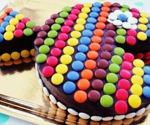 cake, sweet, and fish image