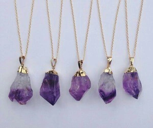 necklace and purple image