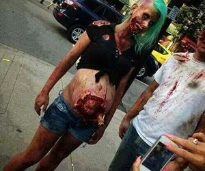 zombie, Halloween, and baby image