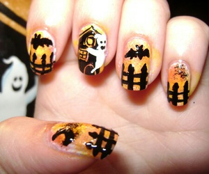 nails, Halloween, and nice image