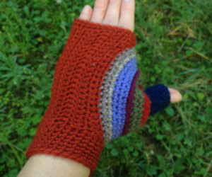 autumn, fall, and mittens image