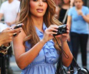 camera, dress, and kim kardashian image