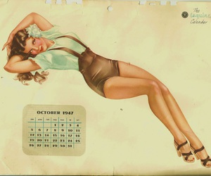 1947, october, and Pin Up image