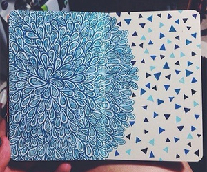 blue and drawing image