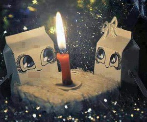 cute and candle image