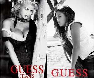 anna nicole smith, beautiful, and guess image