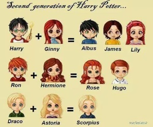 Astoria, harry potter, and hermione granger image