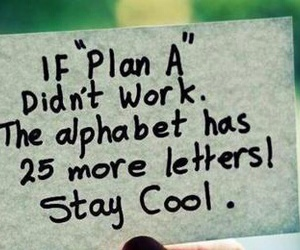 quote, cool, and plan image