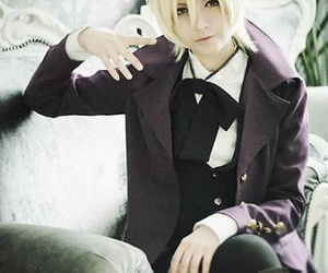 black butler, cosplay, and alois image