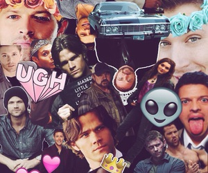 Collage, edit, and winchester image