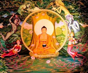 buddha india illustration image